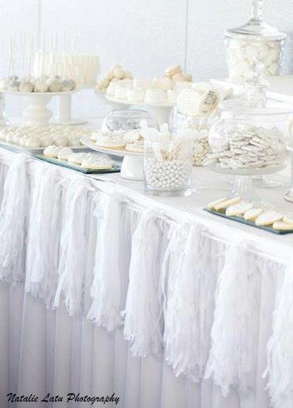 Kara S Party Ideas White Silver Wedding Kara S Party Ideas