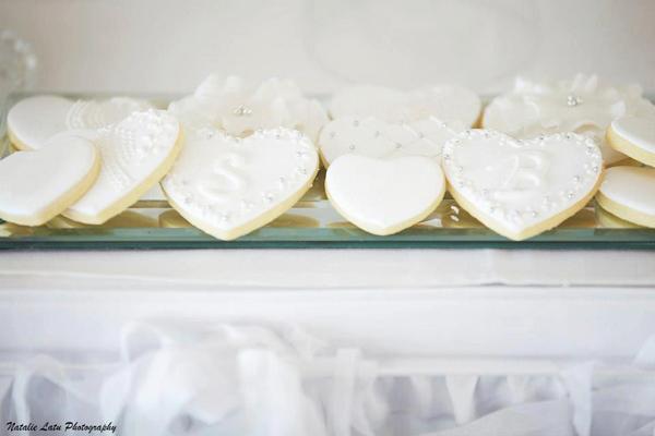 White And Silver Wedding Theme: Kara's Party Ideas White + Silver Wedding