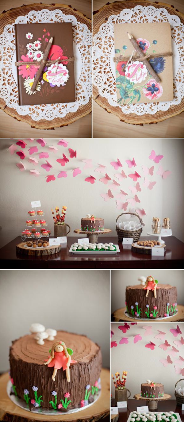 Woodland Animal Girly Birthday Party With So Many Cute And Simple Ideas Via Karas