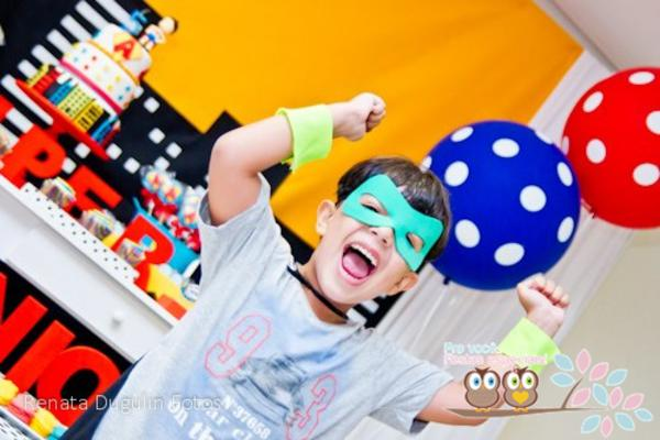 Superhero Birthday Party via Kara's Party Ideas | KarasPartyIdeas.com #superhero #super #hero #spiderman #superman #party #ideas (29)
