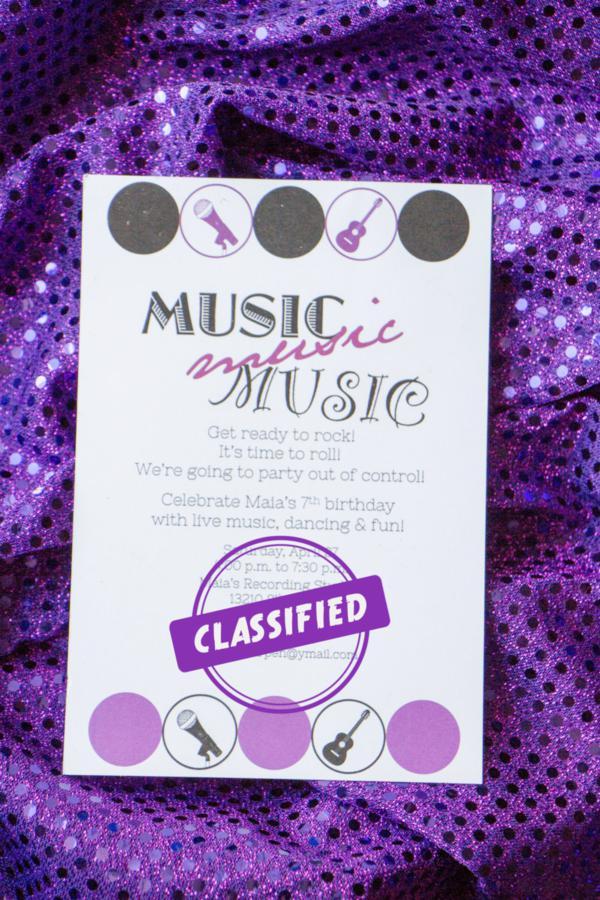 Musical Birthday Party Via Karas Ideas