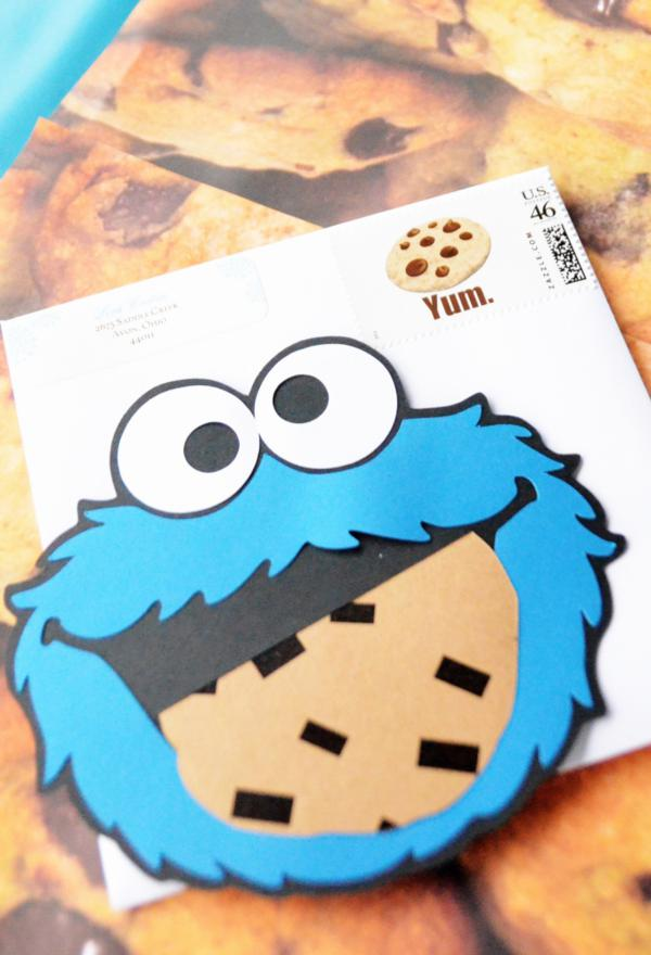 Cookie Monster Themed Birthday Party moreover CWBD Birthday Doodle Fun Boys Candy Bar Wrappers together with Freebie Sesame Street Elmo And Cookie besides Cookie Monster Felt Mag besides Parties Rainbows And Race Cars Birthday. on sesame street party labels cookie