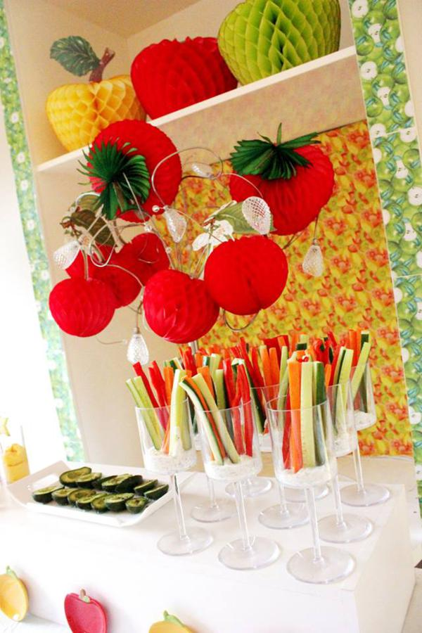 Kara S Party Ideas Tutti Frutti Healthy Fruit Girl Boy
