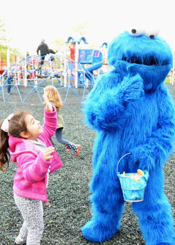 kara u0026 39 s party ideas chic girl blue diy cookie monster birthday party planning ideas decor