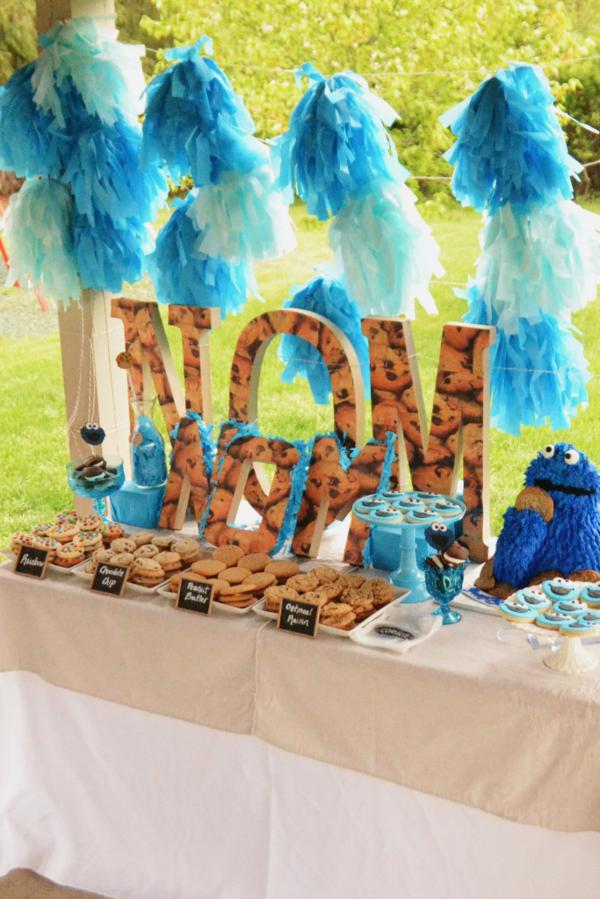Cookie Monster Party Via Karas Ideas