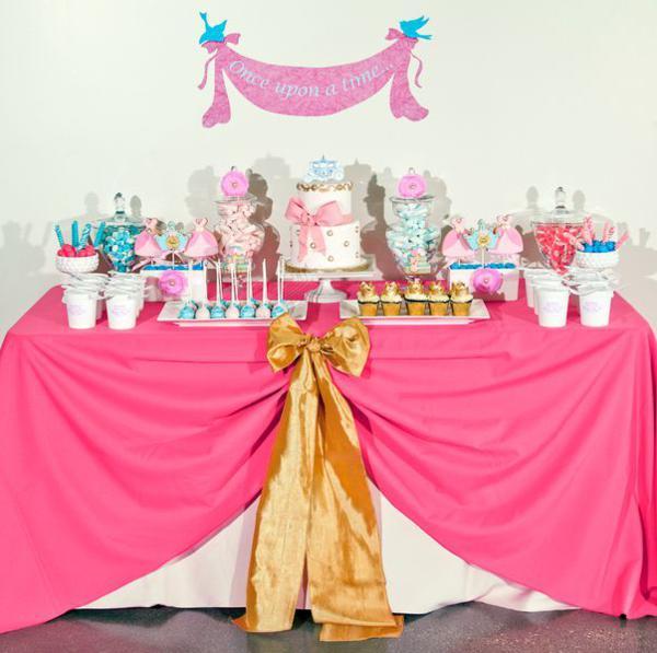 Cinderella Princess Party Via Karas Ideas
