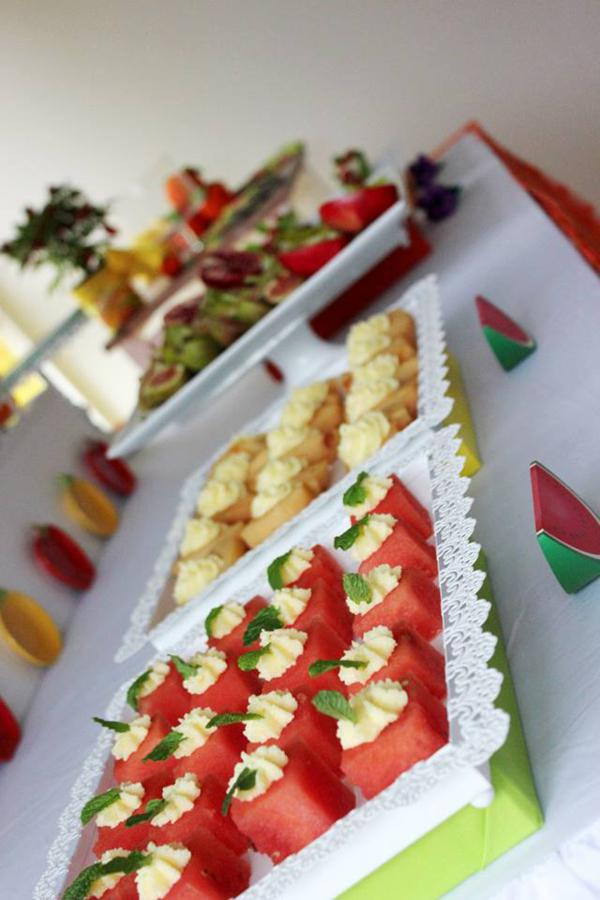 Fruit Cake Favor