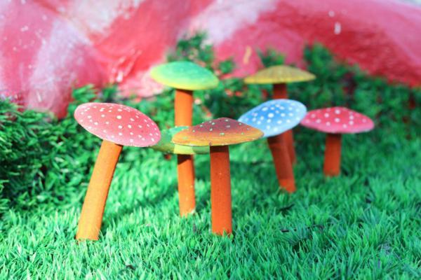 Up Mushroom Cake Diy