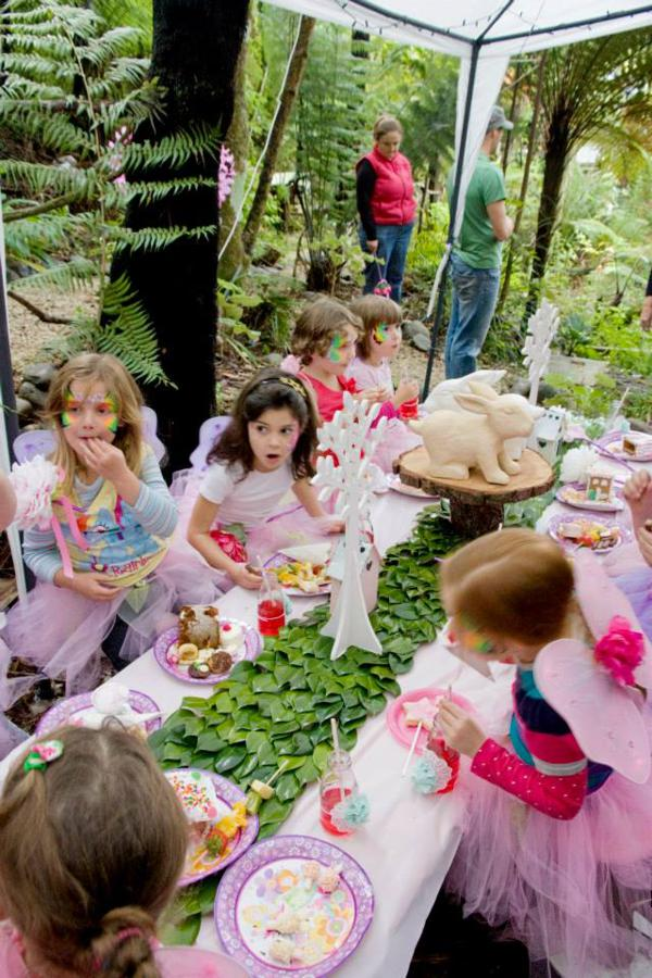Kara S Party Ideas Pink Fairy Girl Woodland Tinkerbell