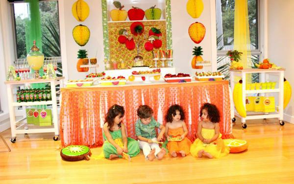 Kara S Party Ideas Tutti Frutti Healthy Fruit Girl Boy Birthday