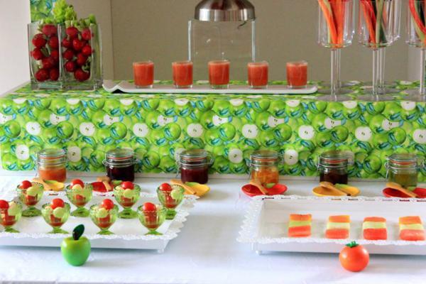 Tutti Frutti Birthday Party Via Karau0027s Party Ideas | KarasPartyIdeas.com  #tutti #frutti