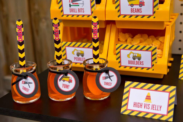 Construction Birthday Party via Kara's Party Ideas | Kara'sPartyIdeas.com #construction #birthday #party #supplies #ideas (5)