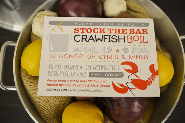 Karas Party Ideas Crawfish Boil Stock The Bar Party Planning Ideas