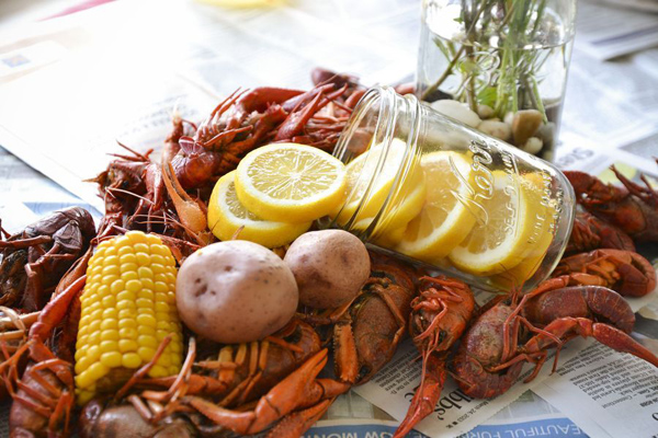 Kara S Party Ideas Crawfish Boil Stock The Bar Party