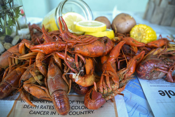 Craw Fish Boil Stock The Bar Party via Kara's Party Ideas | Kara'sPartyIdeas.com #craw #fish #stock #the #bar #party #supplies #ideas (24)