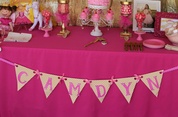 kara s party ideas goldilicious pinkilicious birthday party planning