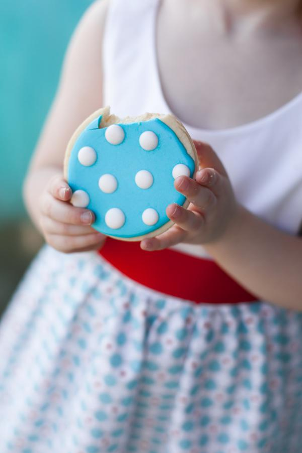 Aqua and Red Polka Dot Party via Kara's Party Ideas | KarasPartyIdeas.com #red #aqua #polka #dot #party #ideas (6)