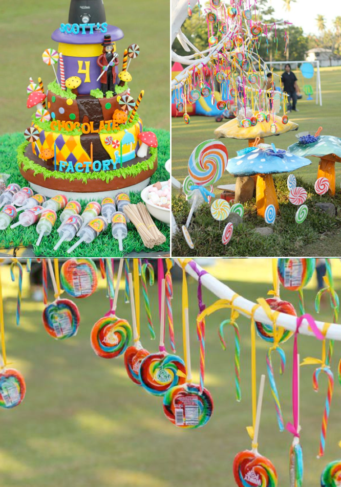 Charlie And The Chocolate Factory Cake Decorations