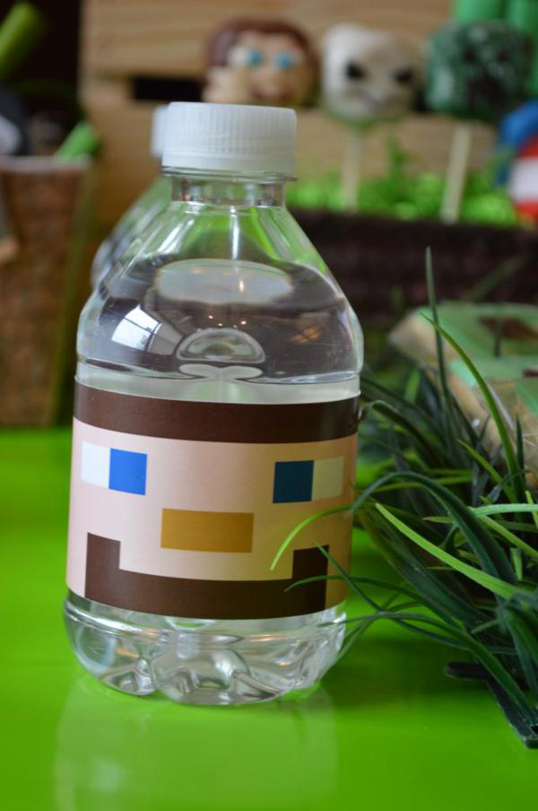 Vintage Minecraft Party via Kara's Party Ideas | KarasPartyIdeas.com #vintage #minecraft #mine #craft #video #game #party #ideas (6)