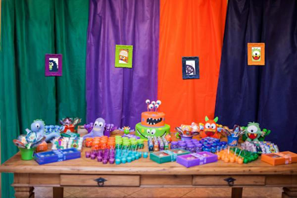 Lil' Monster Party via Kara's Party Ideas | KarasPartyIdeas.com #lil #little #monster #birthday #party #ideas (38)