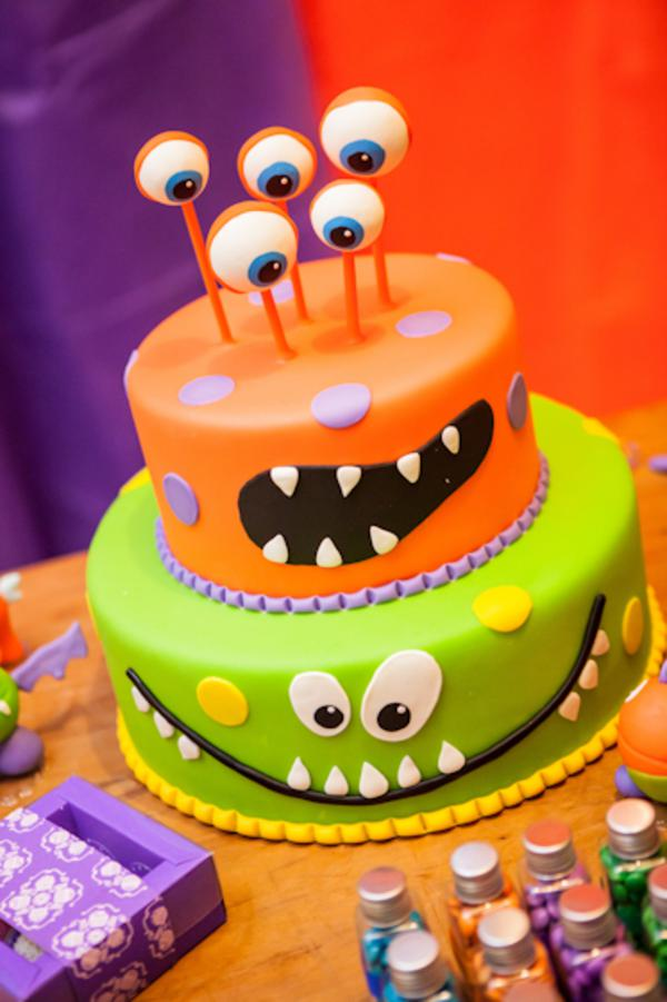 Lil' Monster Party via Kara's Party Ideas | KarasPartyIdeas.com #lil #little #monster #birthday #party #ideas (31)