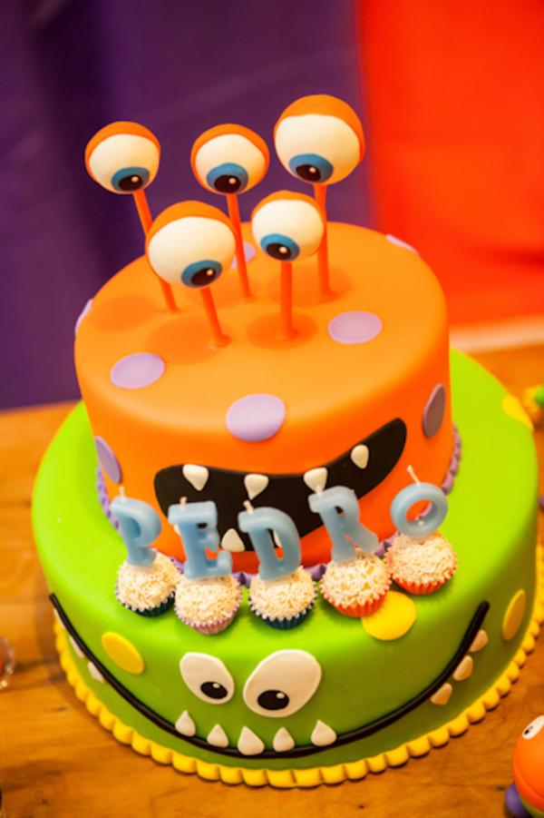 Lil' Monster Party via Kara's Party Ideas | KarasPartyIdeas.com #lil #little #monster #birthday #party #ideas (18)