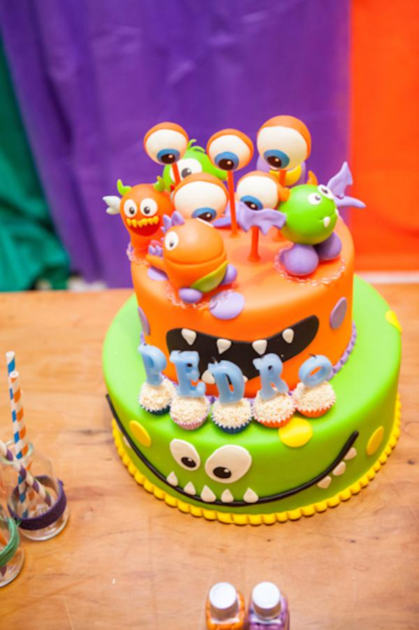 Lil' Monster Party via Kara's Party Ideas | KarasPartyIdeas.com #lil #little #monster #birthday #party #ideas (1)