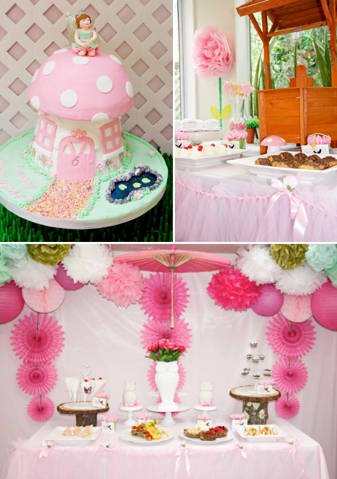 Girls party decorations and ideas