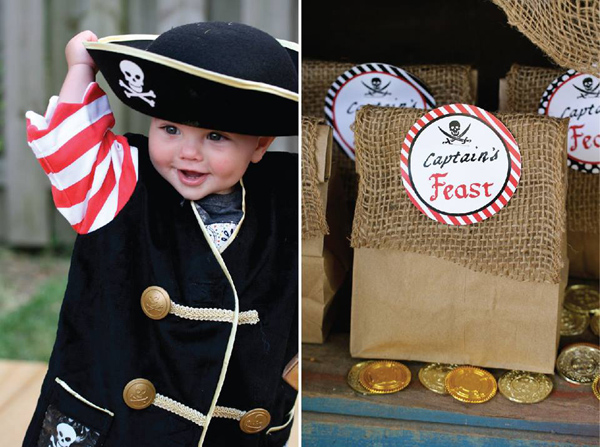 Pirate Third Birthday Party via Kara's Party Ideas | Kara'sPartyIdeas.com #pirate #third #birthday #party #supplies #ideas (12)
