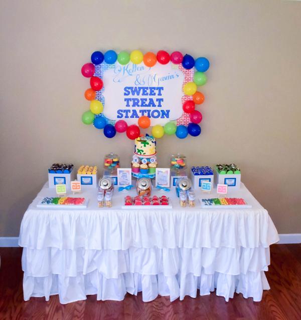 Kara S Party Ideas Rainbow Art Birthday Party Planning Ideas