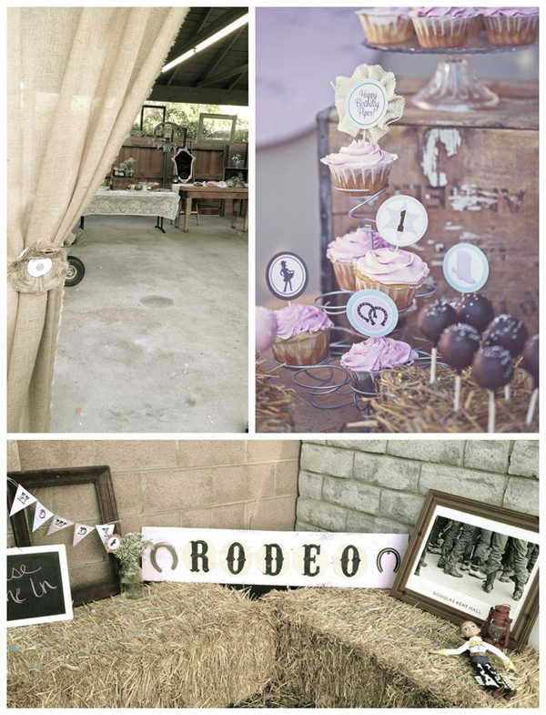 Karas party ideas shabby chic cowgirl 1st birthday party karas shabby chic cowgirl birthday party with lots of cute ideas via karas party ideas kara filmwisefo