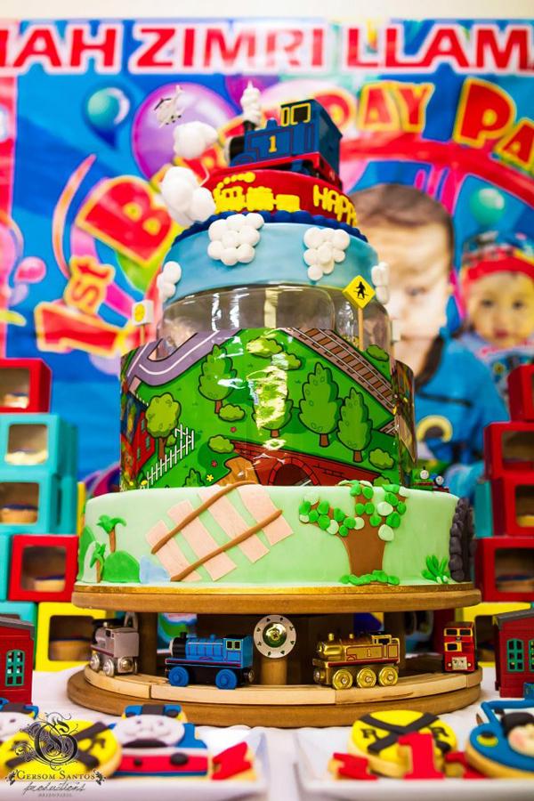 Thomas Train Birthday Party Via Karas Ideas