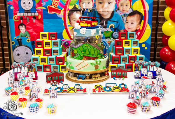 Items Used In This Thomas The Train Party Available Karas Ideas Shop