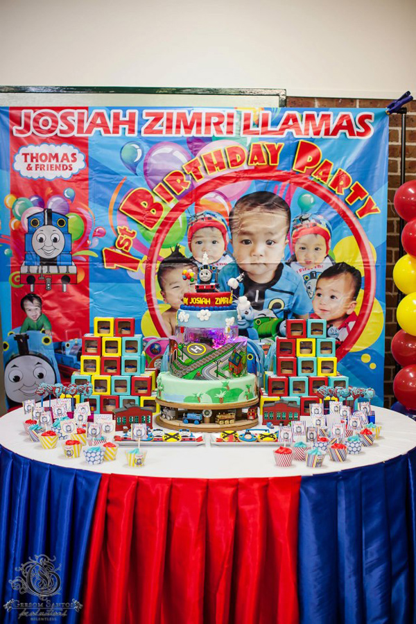 Incredible Karas Party Ideas Thomas The Train Birthday Party Planning Home Interior And Landscaping Sapresignezvosmurscom