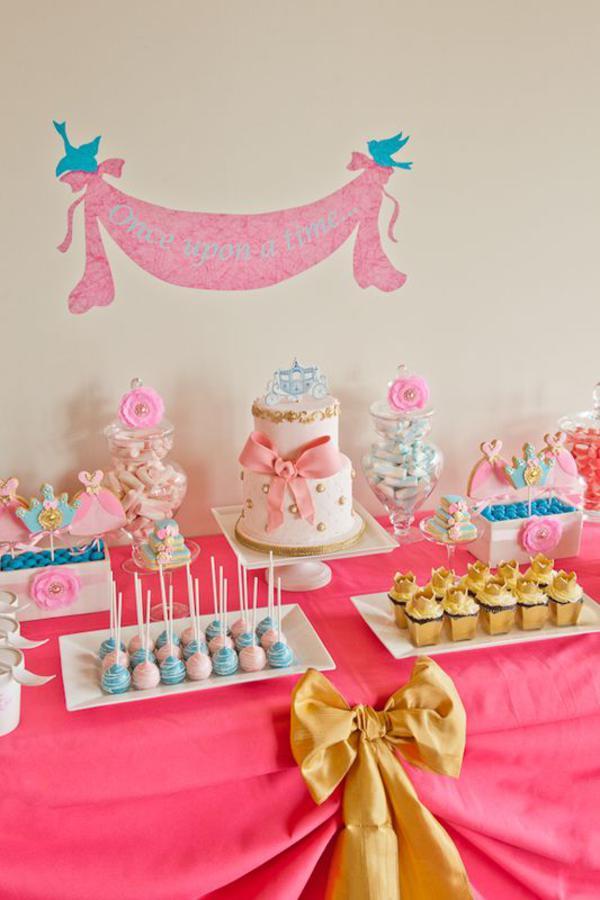 Karas Party Ideas Disney Cinderella Girl Princess Party Ideas