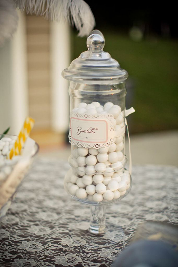 Vintage Backyard Wedding via Kara's Party Ideas | Kara'sPartyIdeas.com #vintage #backyard #wedding #supplies #ideas (7)