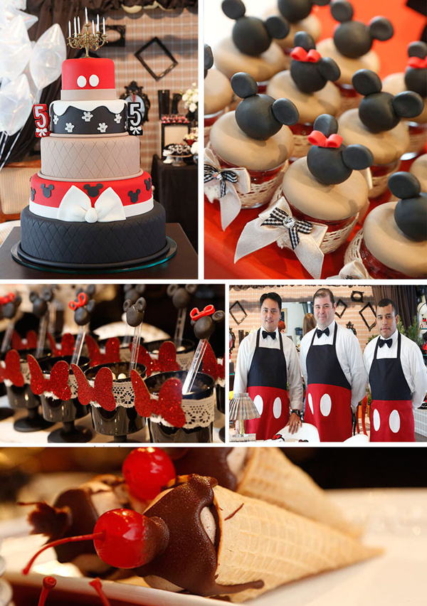 Vintage Mickey And Minnie Mouse Party With LOTS Of Ideas Via Karas