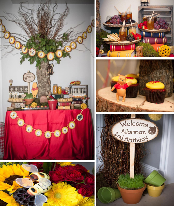 Karas Party Ideas Winnie The Pooh Hundred Acre Wood Party Planning