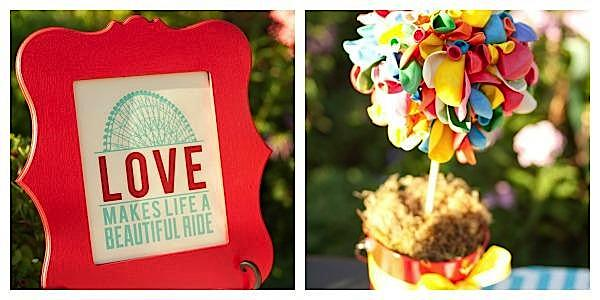 Karas Party Ideas Outdoor Wedding Reception Carnival Circus