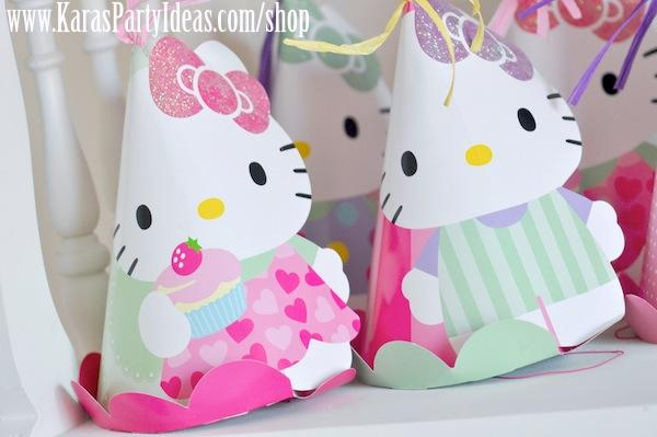 Karas Party Ideas Hello Kitty Birthday Planning Cupcakes