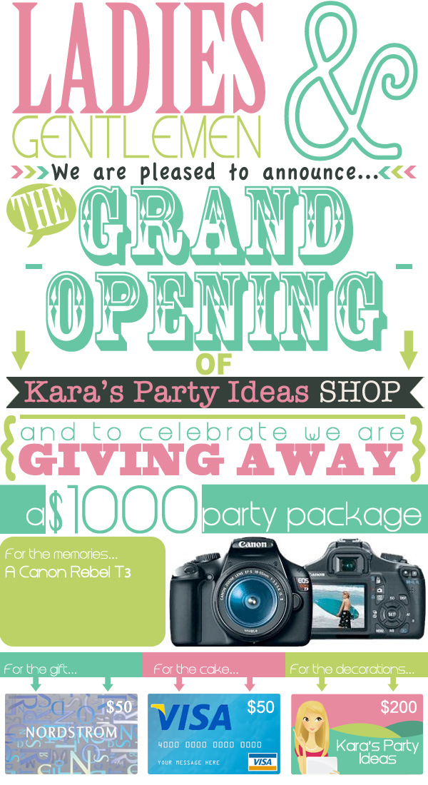 grand opening giveaway ideas kara s party ideas 1 000 giveaway kara s party ideas 869