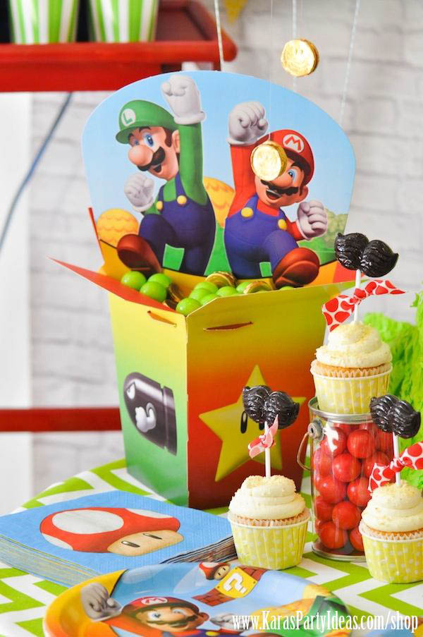 Mario Birthday Food Ideas