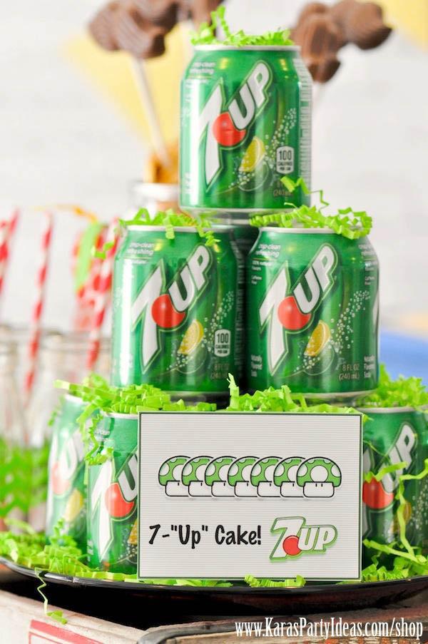 karas party ideas super mario bros themed birthday party