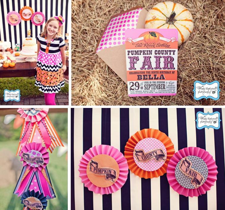 Kara's Party Ideas Pumpkin County Country Fair Carnival