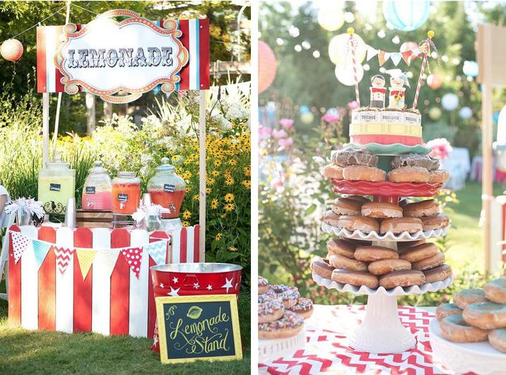 Kara S Party Ideas Outdoor Wedding Reception Carnival
